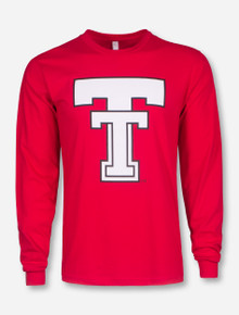 Texas Tech Throwback Double T Long Sleeve Shirt