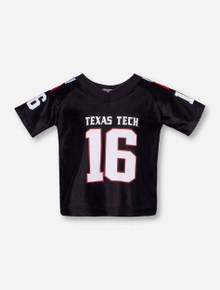Texas Tech #16 Black INFANT Jersey