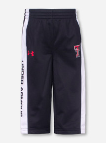 Under Armour Texas Tech Double T on INFANT Black and White Sweatpants