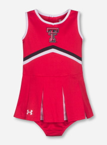 Under Armour Texas Tech Red KID Cheerleading Set