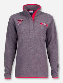 "Texas Tech Columbia ""Harborside"" Grey Fleece Women's Pullover"