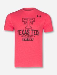 "Under Armour Texas Tech ""Legacy"" Tri-Blend T-Shirt"