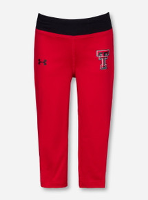 Under Armour Texas Tech Double T on TODDLER Red Leggings