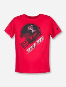 """Under Armour Texas Tech """"Rush"""" KIDS Red T-Shirt"""