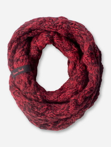 Red and Black Texas Tech Infinity Scarf