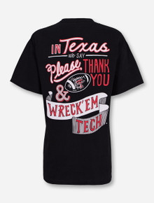 In Texas We Say Wreck 'Em on Red T-Shirt