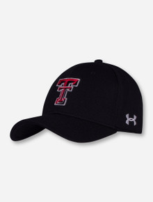 Under Armour Texas Tech Double T Stretch Fit Cap