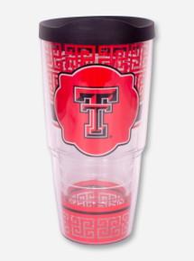 Tervis Texas Tech Double T Greek Key Tumbler