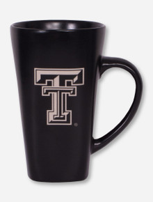 Double T Black Tall Latte Mug
