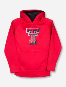 "Under Armour Texas Tech ""Double T"" KIDS Red Hoodie"