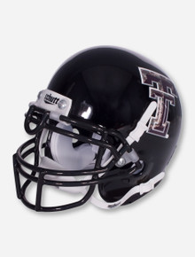 Schutt Texas Tech Limited Edition Camo Double T on Black Mini Helmet