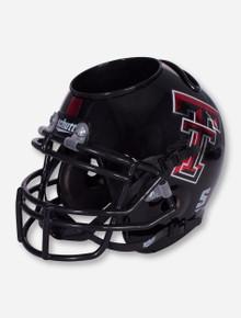 Texas Tech Metallic Red and Black Helmet Desk Caddy