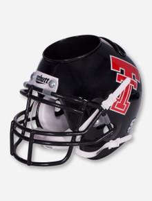 Texas Tech Throwback Double T Black Helmet Desk Caddy