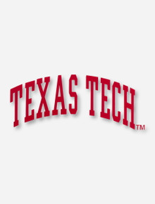 Texas Tech Arch Decal