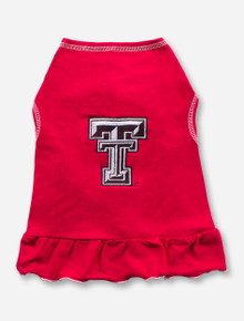 Texas Tech Double T Red Pet Dress
