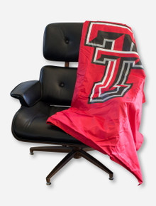 Texas Tech Double T All Weather Red Blanket