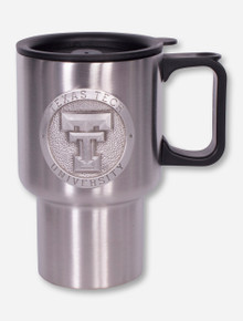 Heritage Pewter Texas Tech Double T Travel Mug