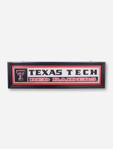 Texas Tech Framed Wood Sign