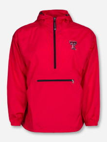 "Charles River Texas Tech ""Pack N Go"" Half Zip Pullover"