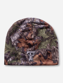 Texas Tech Double T Camo Beanie