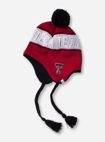 47 Brand Texas Tech Double T Over the Ear Team Colors Knit Cap