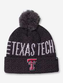 "47 Brand Texas Tech ""Charcoal Puff"" Beanie"