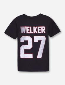 Texas Tech Throwback Welker YOUTH Black T-Shirt