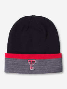 Under Armour Texas Tech Classic Double T Cuff Beanie