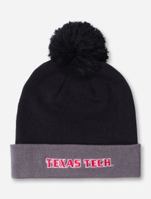 Under Armour Texas Tech Black Cuff Beanie