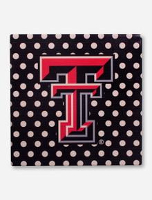 Texas Tech Double T Polka Dot Trivet