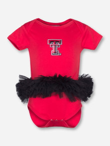 Texas Tech Double T TuTu INFANT Red One Piece