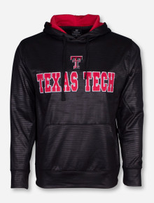 Arena Texas Tech Tonal Textured Fabric Black Hoodie