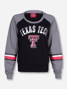 Arena Texas Tech Polish Grey and Black Women's Sweatshirt