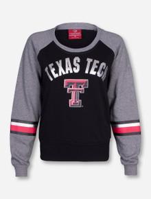Arena Texas Tech Polish Grey and Black Women's Sweatshirt