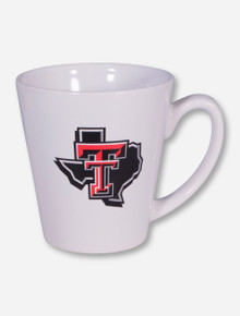 Texas Tech Lone Star Pride on White Latte Mug