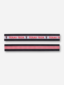 Texas Tech Stretch Ribbon Headband Set