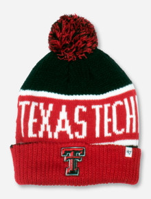 "47 Brand Texas Tech ""Calgary"" Black & Red Beanie"