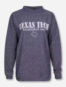 Woolly Threads Texas Tech Newspaper Font Women's Sweater
