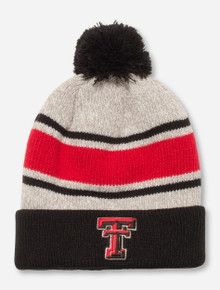 "47 Brand Texas Tech ""Palmer"" Grey & Red Beanie"