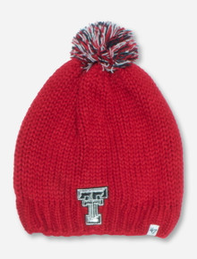 "47 Brand Texas Tech ""Sparkle"" Red Beanie"