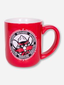 Texas Tech Raider Red on Red Mug