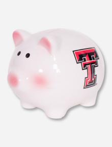 Texas Tech Blushing Double T Piggy Bank