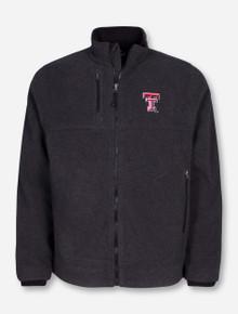 Charles River Texas Tech Titan Wool Charcoal Jacket