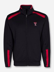 "Antigua Texas Tech ""Flight"" Black and Red Jacket"