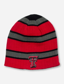 Texas Tech Drift Reversible Red, Black & Grey Beanie