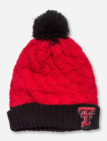 47 Brand Texas Tech Matterhorn Red Beanie