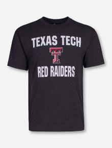 Arena Texas Tech Trek Print on Heather Charcoal T-Shirt