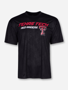 Arena Texas Tech Gridlock on Black Illusion T-Shirt
