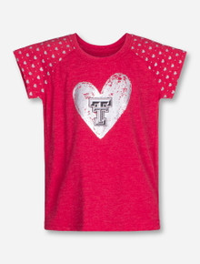 Arena Texas Tech Heart Beat INFANT Red T-Shirt