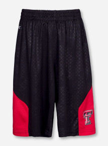 Arena Texas Tech Gridlock YOUTH Black Illusion Shorts